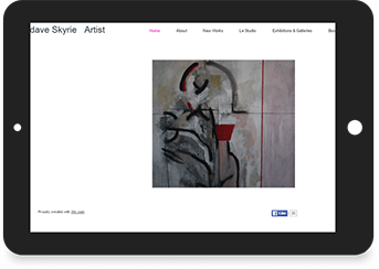 Dave Skyrie Website Screenshot