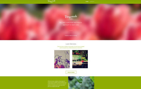 Website Builder Website Sample