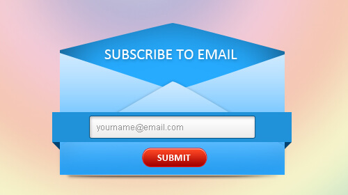 Collect email addresses from website visitors
