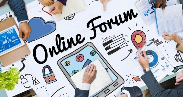 Consider an online forum as a communication channel with yoru customers