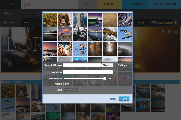 how to make a slideshow on flickr