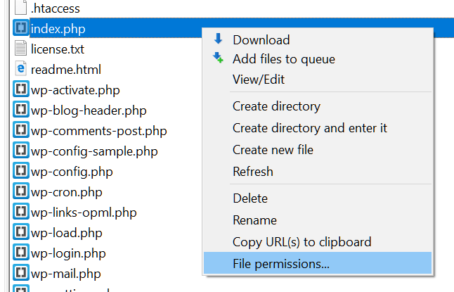 How to change file permissions in WordPress - HostPapa