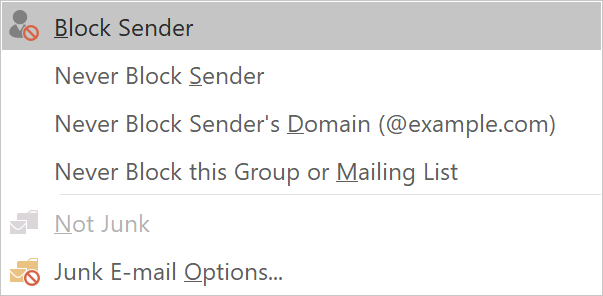 How to block unwanted emails in Outlook - HostPapa Knowledge